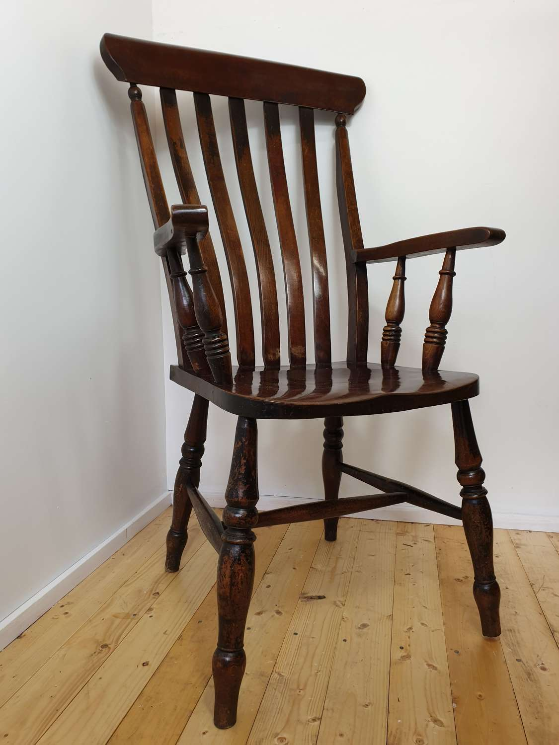 19th Century Windsor Stick Back Chair