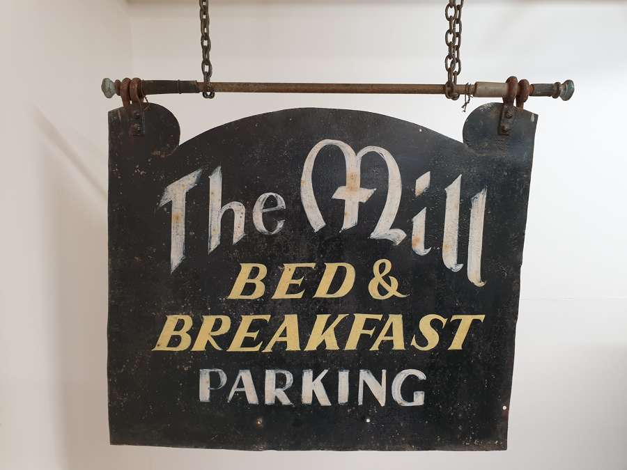 Bed and Breakfast Folk Art Sign