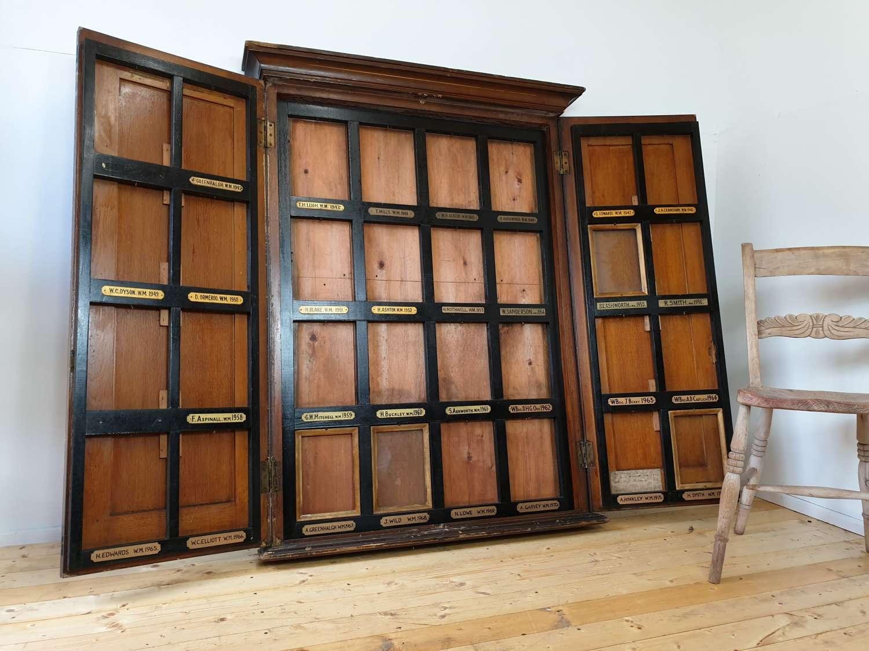 1930s Prince Edwin Lodge Masonic Cabinet