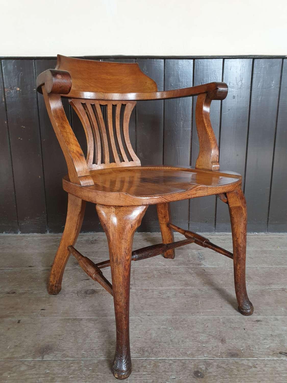 GWR Station Masters Oak Desk Chair