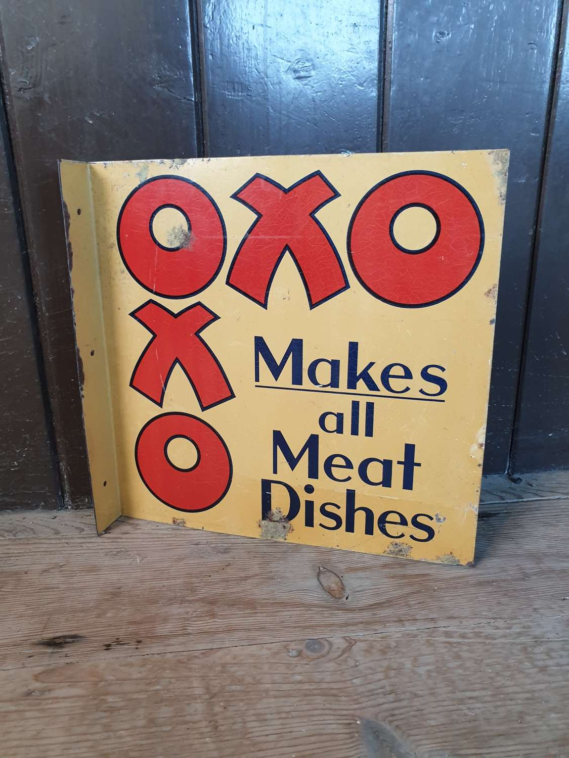 Double Sided OXO Aluminium Advertising Sign