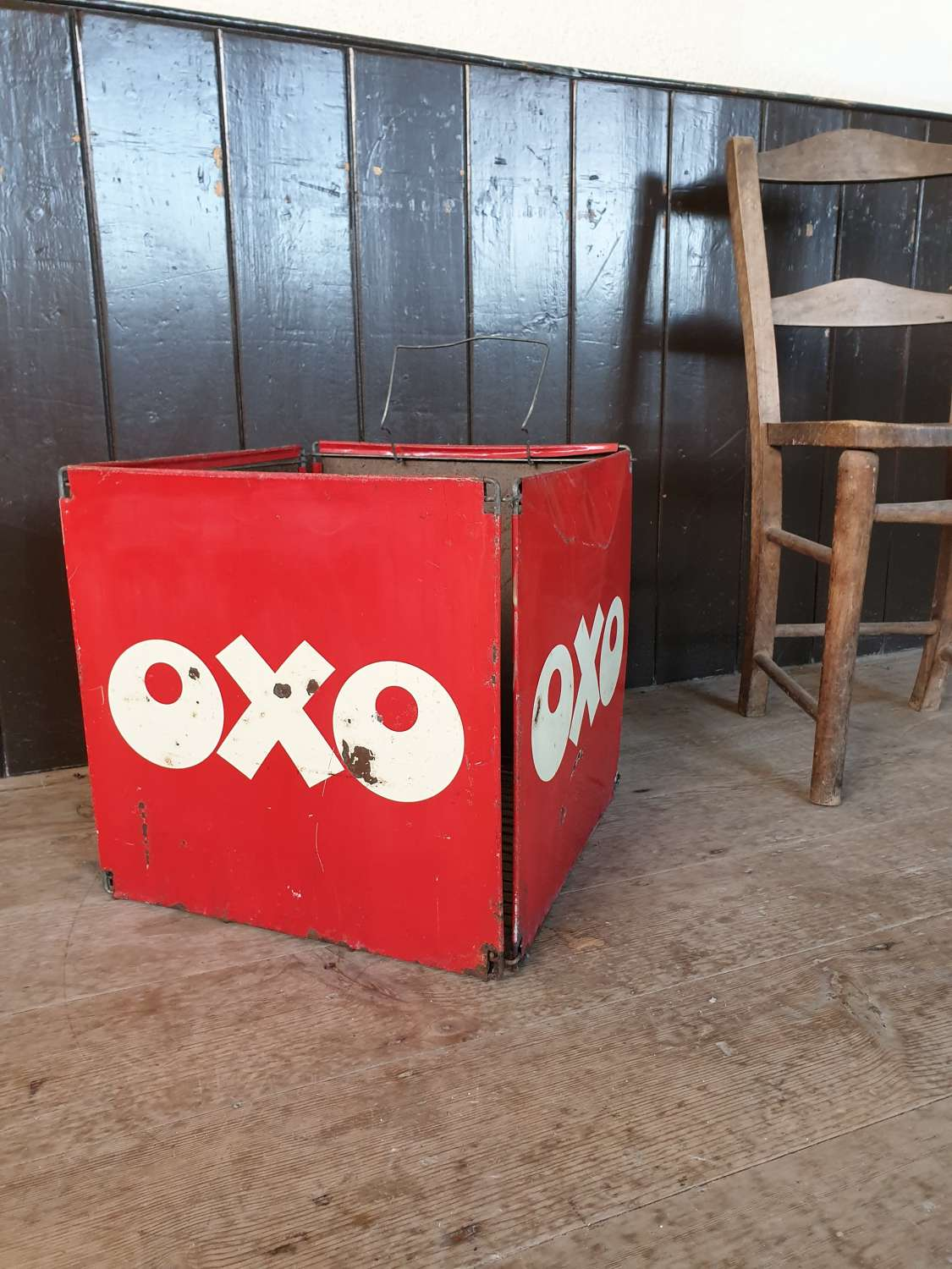OXO Advertising Litter Bin