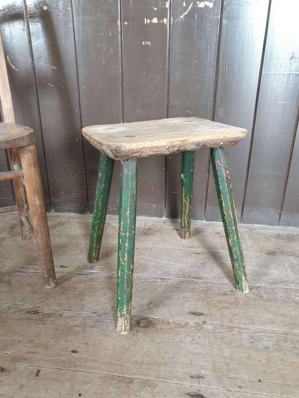 Welsh ash milking stool