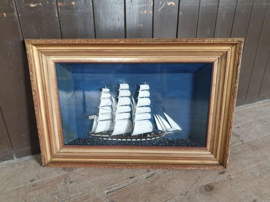 19th Century Ship Diorama