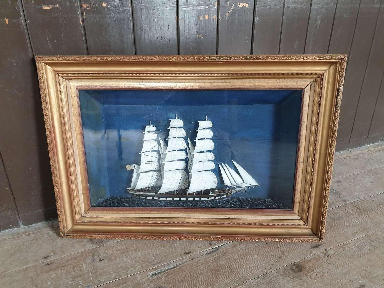 19th Century Ship Diorama