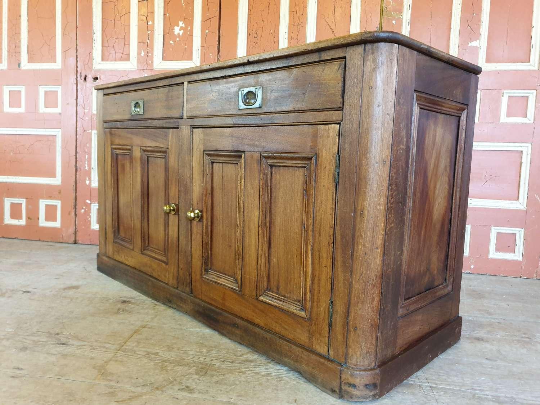 Victorian Mahogany Shop Counter