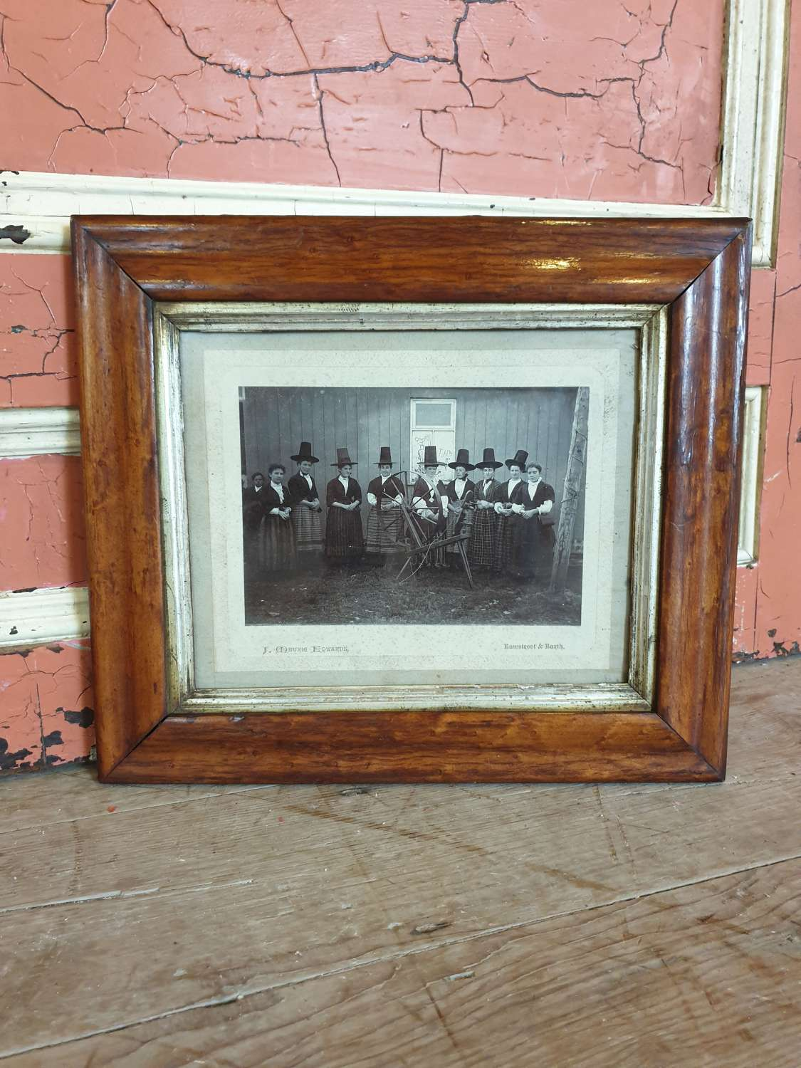 Welsh Ladies Framed Photograph
