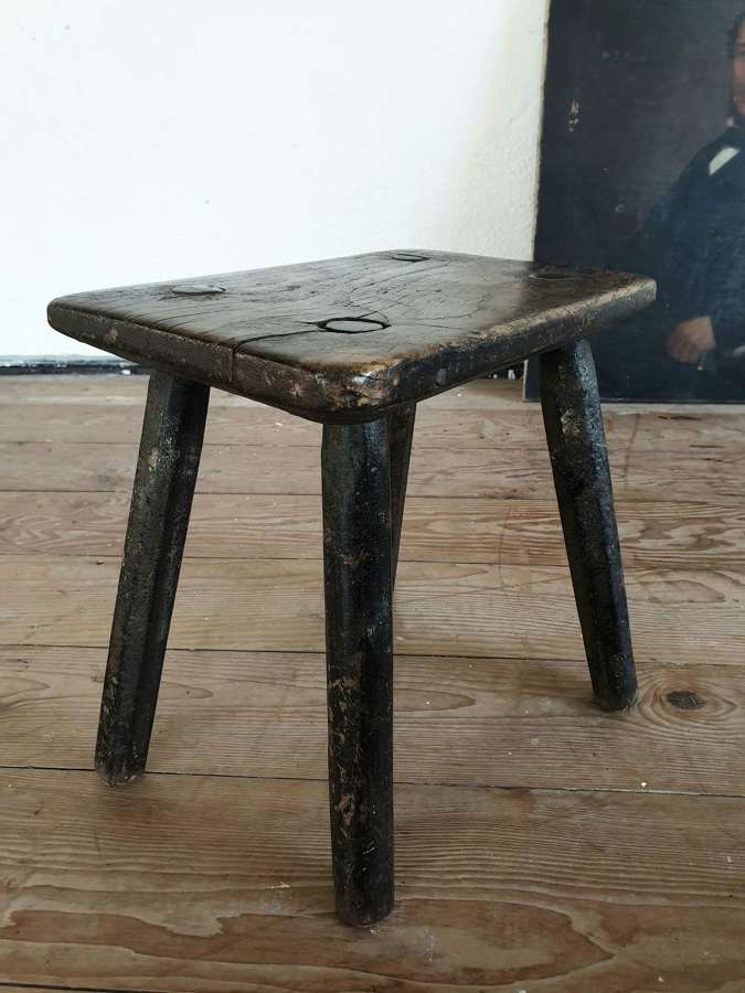 Welsh Elm Stool