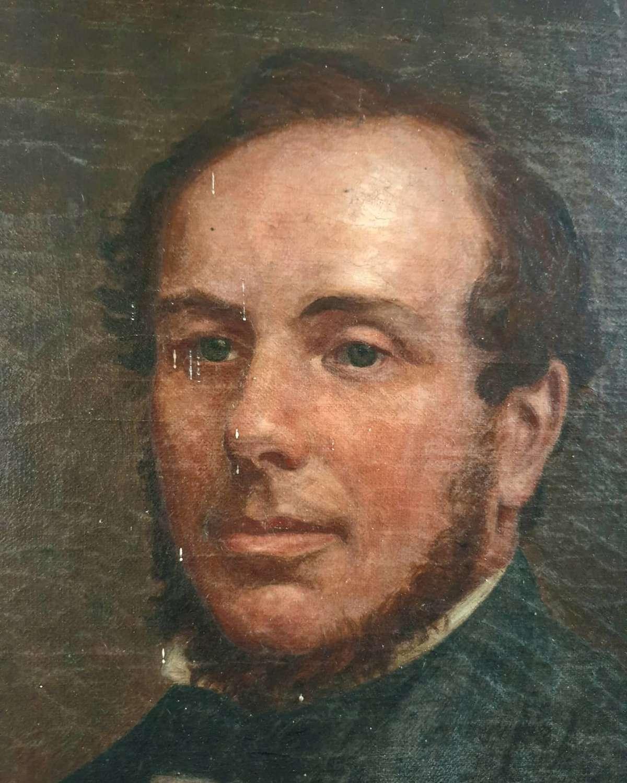 Portrait Of A Breconshire Gent