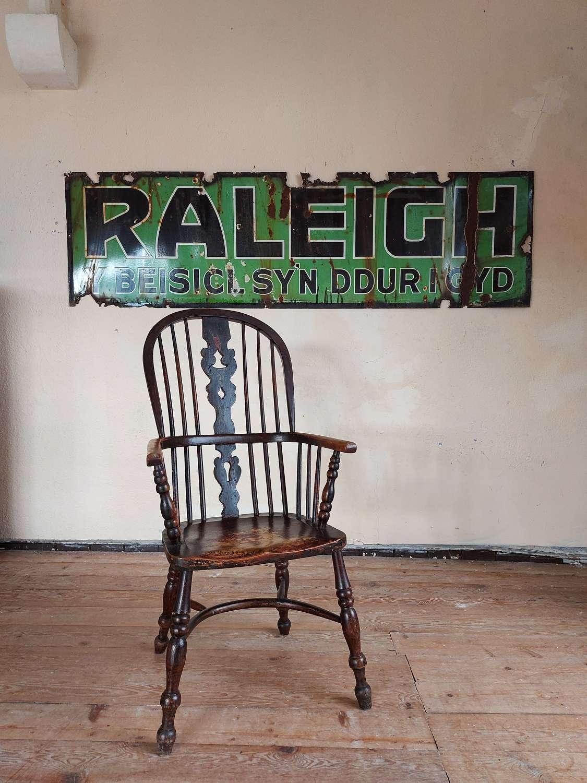Welsh Raleigh Bicycle Enamel sign