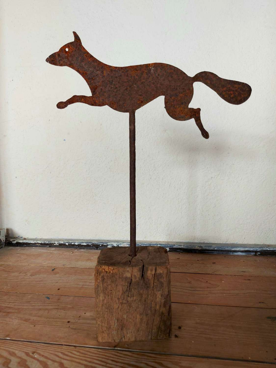 Folk Art Fox Weather Vane
