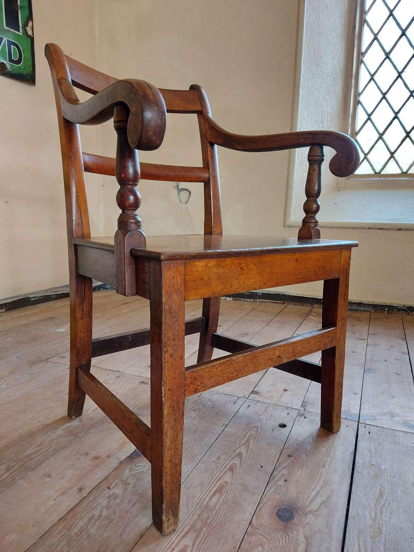 Pembrokeshire Oak Carver Chair