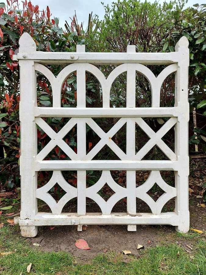 Gothic Wooden Garden Gate