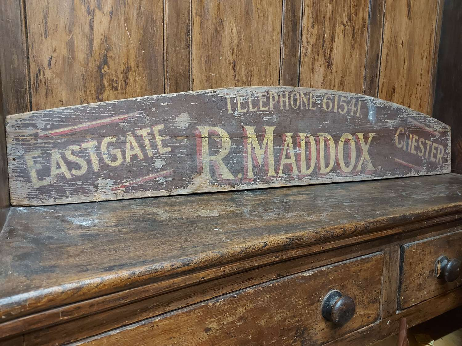 Cart Board R.Maddox Of Chester